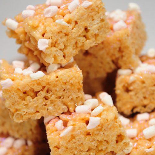 Image of Marshmallow crispy squares