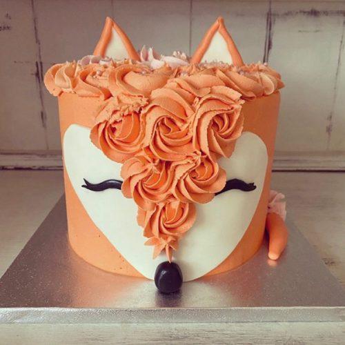 Image of Fox cake