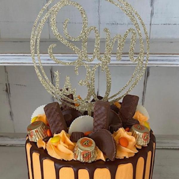 Image of Reese's Drip Cake 2