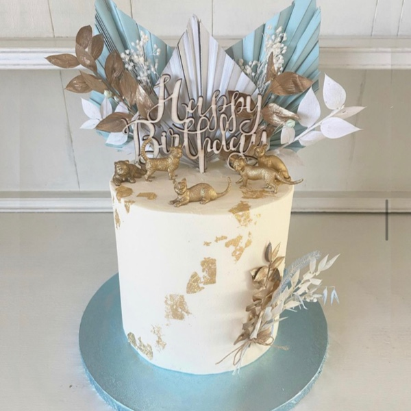 Image of Dried Flower Cake