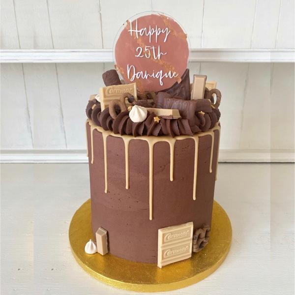 Image of Chocolate & Salted Caramel Cake