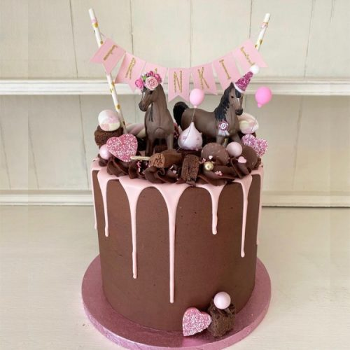Image of Party Animal & bunting cake