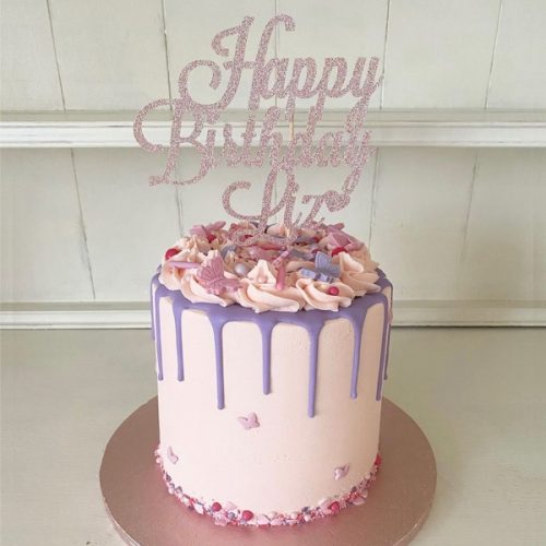 Image of Butterfly cake